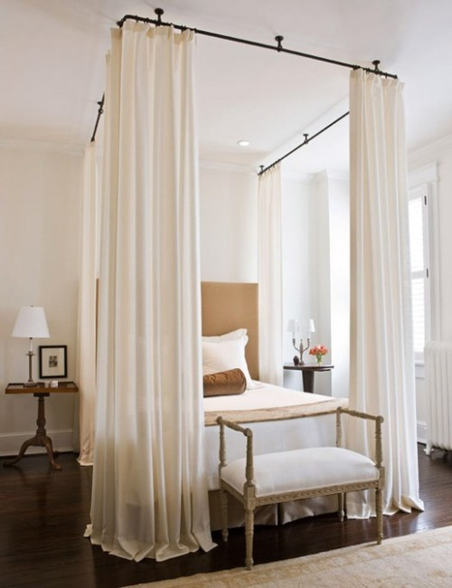 ceiling-mounted-bed-canopy