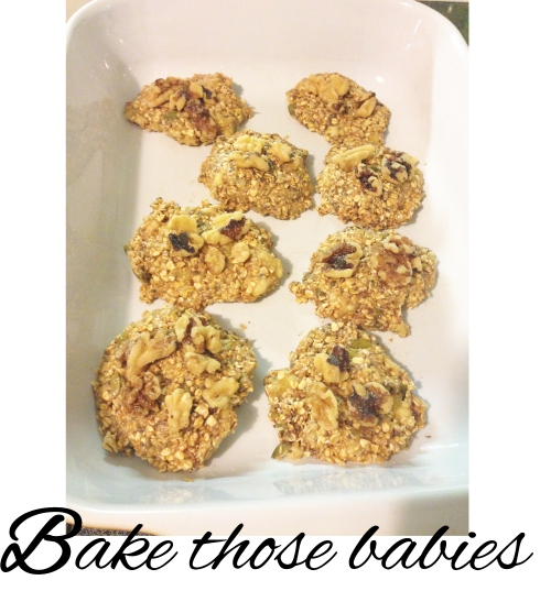 superfood snack - baking