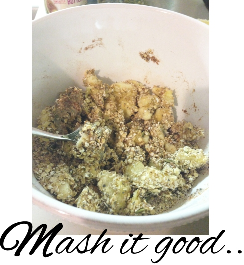 superfood snack - mashing