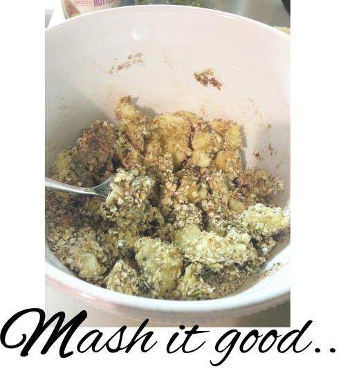 superfood snack - mashing